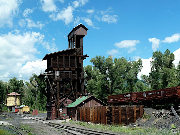 Chama Railroad Yard