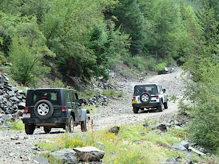 Jeeping on the Alpine Loop