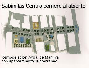 Centro comercial abierto