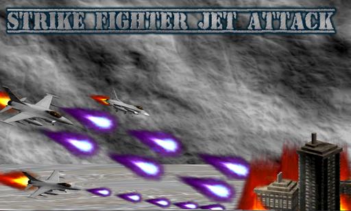 Strike Fighter Jet Attack