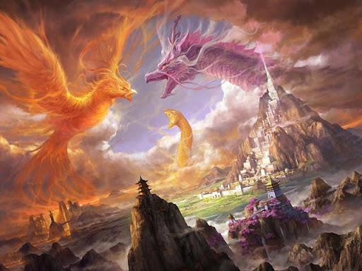 Dragon Battle Wallpapers