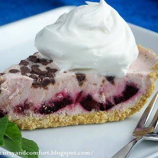 Cherry Cheesecake Ice Cream Pie