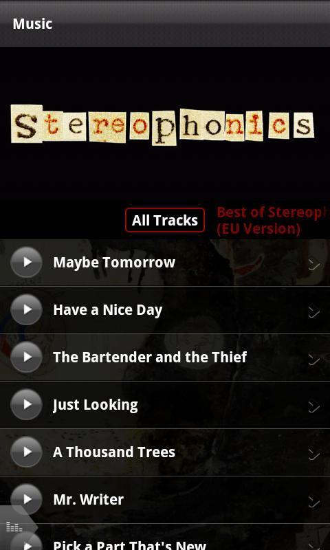 Stereophonics- screenshot