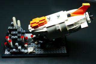 LEGO: 21100 しんかい6500を組んだ