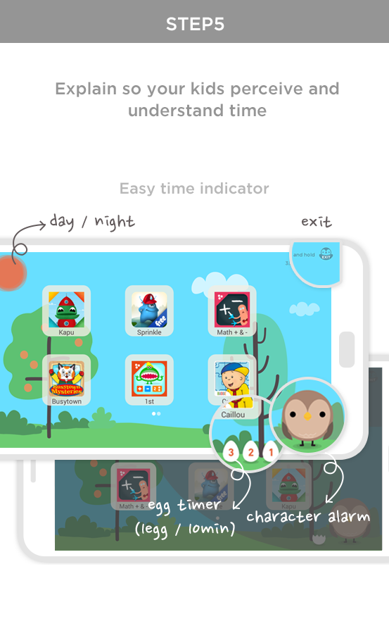 Child Mode & Time Education - screenshot