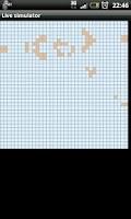 Screenshot of Conway's Game of Life Emulator