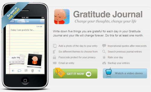 happytapper :: gatitude journal