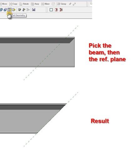 Do U Revit?: Beams with sloped edges