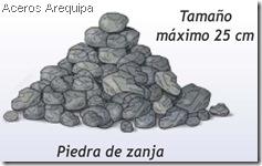Piedra de zanja