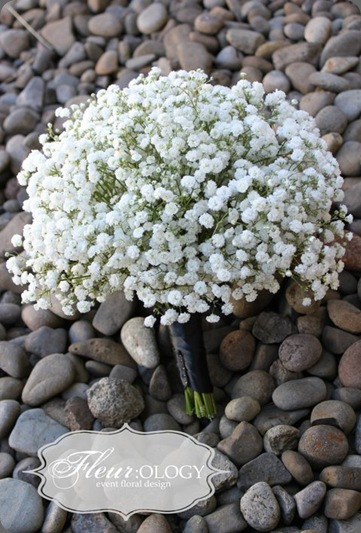 fleirology bouquet babys breath