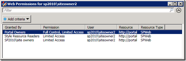 Discovering Who Has Access to SharePoint 2010 Securable