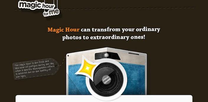 Magic Hour - Camera v1.2.3