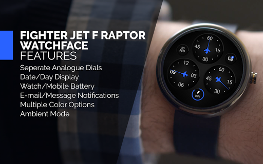 Fighter Jet F Raptor WatchFace