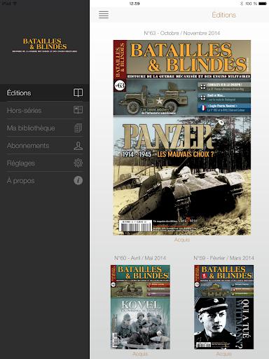 Batailles et Blindés Magazine