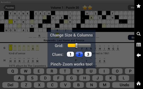 Acrostics Crossword Puzzles - screenshot thumbnail