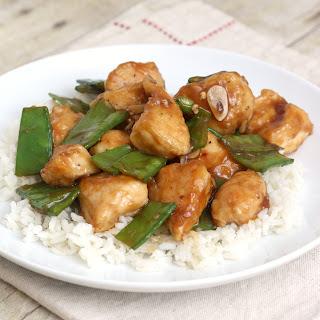 Lighter General Tso's Chicken.