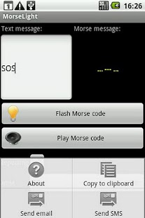 Morse Light - screenshot thumbnail