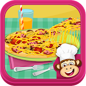 Cooking Kid - Making Pizza