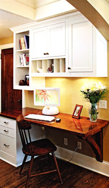 Designing Your Dream Home Kitchen Office Desk Area