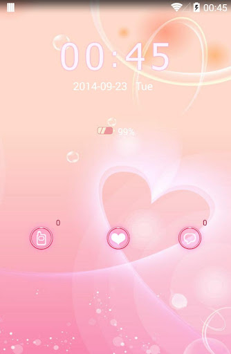 KK Locker theme - Heart