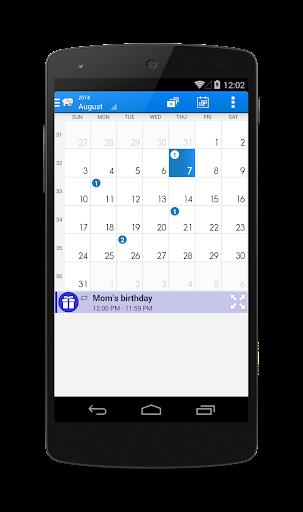 カレンダー&タスク
