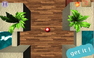 Screenshot of FRUIT BALL( labyrinth)