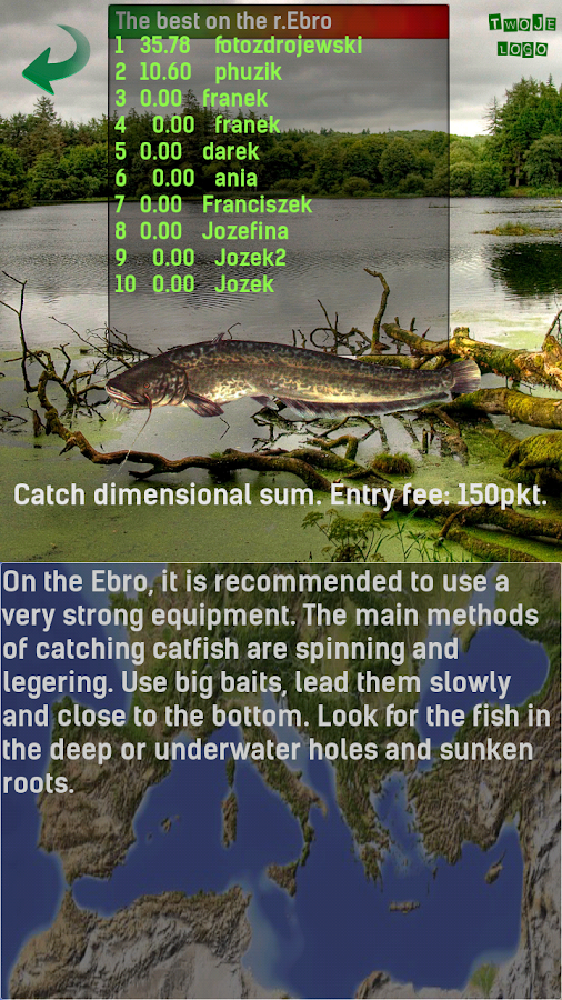Fishing - Asp 3D- screenshot