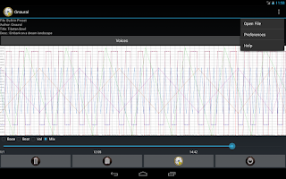 Screenshot of Gnaural for Android FREE
