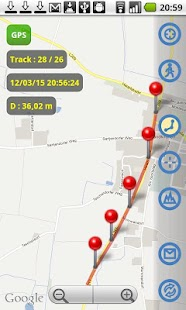 Map Track  GPS real time track - screenshot thumbnail