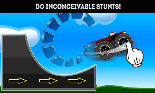 Stunts Of Monster Car
