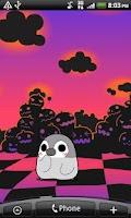 Screenshot of Pesoguin LWP Halloween Free