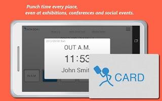 Screenshot of USB TimeClock  Free!