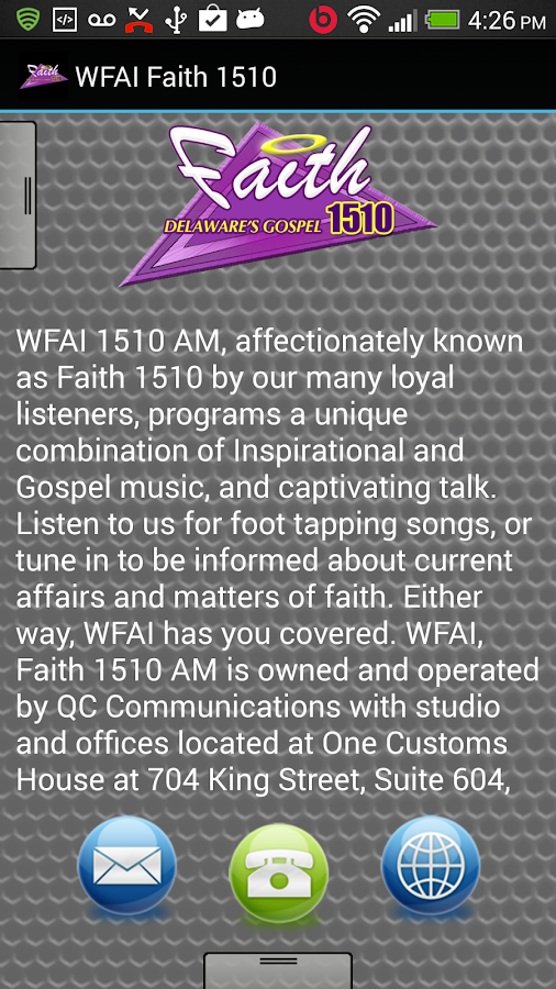 WFAI Faith 1510 - screenshot