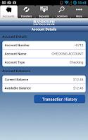 Screenshot of Randolph Savings Bank Mobile