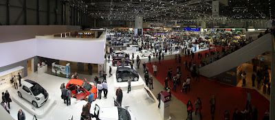 salon auto geneve 2009 Palexpo panoramique