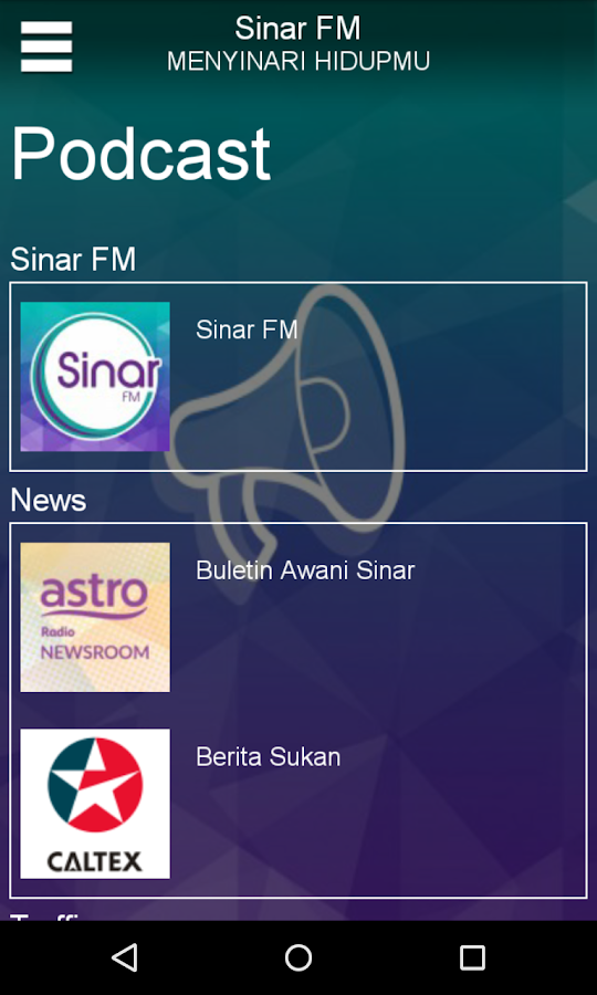 SINAR - screenshot