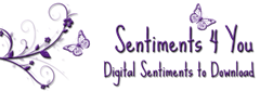 Sentiments 4 you logo