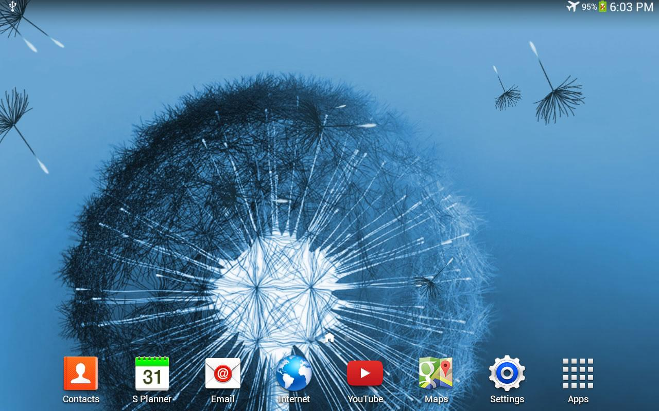 Dandelion Live Wallpaper- screenshot