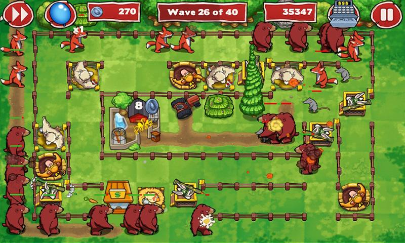 Zoo Defenders™ - Play Now! - screenshot