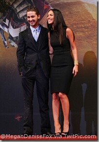 Shia LaBeouf & Megan Fox @ South Korea Premiere. [click to enlarge]