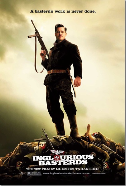 INGLOURIOUS BASTERDS poster [click to enlarge]
