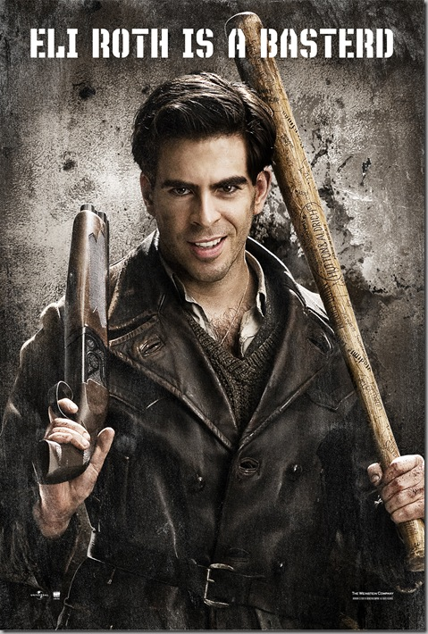 Eli Roth's INGLOURIOUS BASTERDS poster [click to see additional posters]