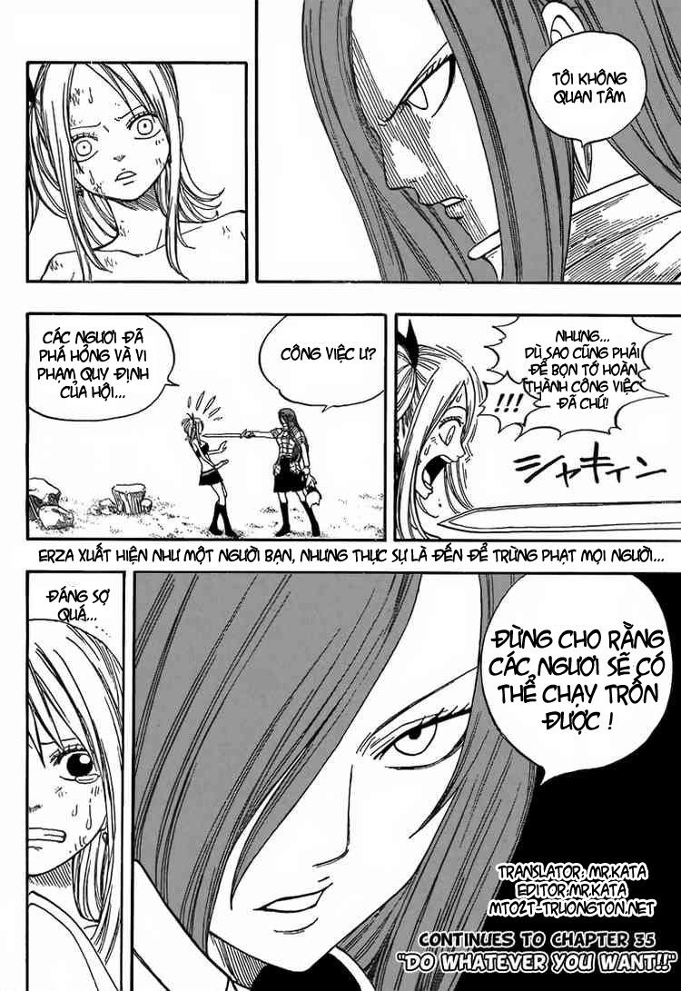 Fairy Tail Chap 34