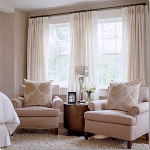 Gracious southern living classic southern charm - Window treatment ideas for living room ...