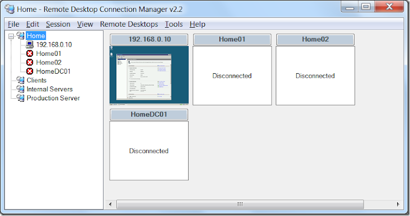 RDCman - Remote Desktop Connection Manager ~ Santhosh