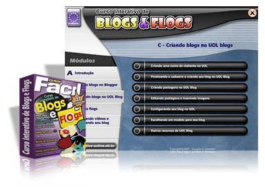 Blogs e Flogs Download   Curso Interativo de Blogs e Flogs (Video Aula) Baixar Grátis