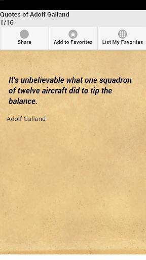Quotes of Adolf Galland
