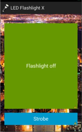 LED Flashlight X