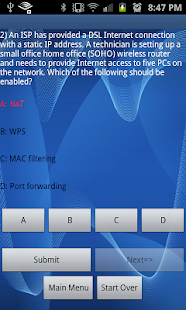 CompTIA A+ 801 Practice Test - screenshot thumbnail