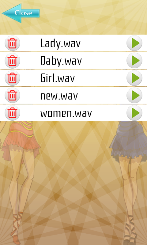 Girls Voice Changer- screenshot